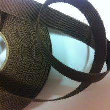 Chocolate Brown Milliner's Petersham Ribbon in 2 Widths